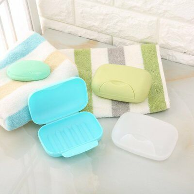 Bathroom Shower Travel Hiking Soap Box Dish Plate Holder Case Container Hot UU