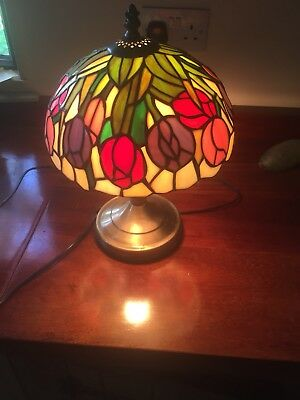 Small Tiffany Style Table Lamp