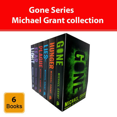 Michael Grant Gone Series Collection 6 Books Set Light Hunger Lies Plague New