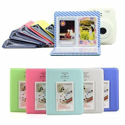 64 Pockets Photo Album Picture Case For Fujifilm Instax Mini 8 70 9 90 25 50 UU