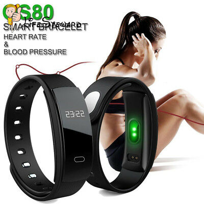 QS80 Waterproof Bluetooth SmartWatch Phone Mate For iPhone Samsung HTC Huawei LG