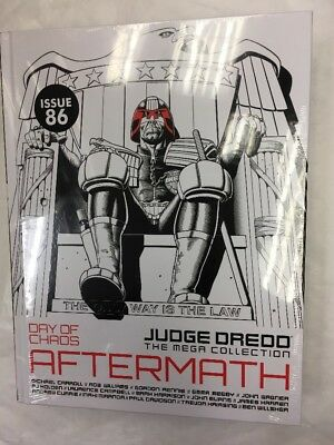 Judge Dredd The Mega Collection Graphic Novel Issue 86 Day Of Chaos Aftermath