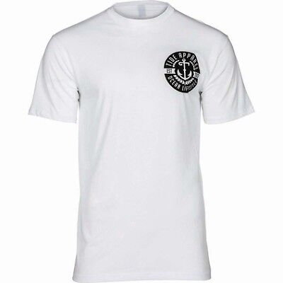 Tide Apparel Anchored Tee - Mens/White