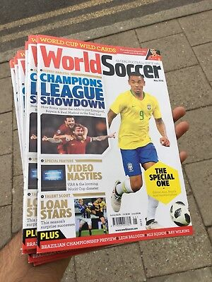 World Soccer Magazine May 2018 Champions League Showdown + World Cup Special
