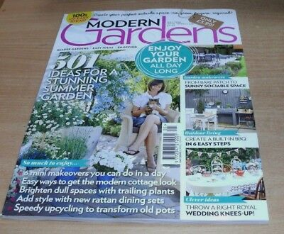 Modern Gardens magazine MAY 2018 Mini Makeovers, Cottage Look, Trailing Plants &