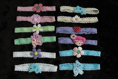 #F3 Wholesale Lots 12 Pieces New Very Cute Baby Headband