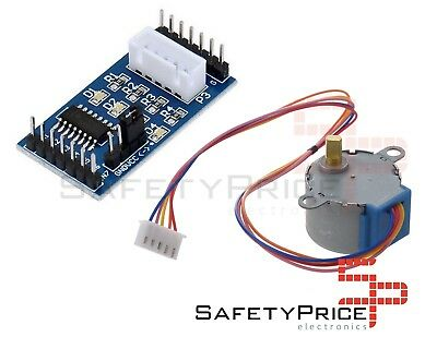 Motor paso a paso 4 fases + Driver ULN2003 28BYJ-48 5v placa stepper 4-Phase SP