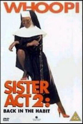 SISTER ACT 2 BACK IN THE HABIT DVD Whoopi Goldberg Maggie UK Release New R2