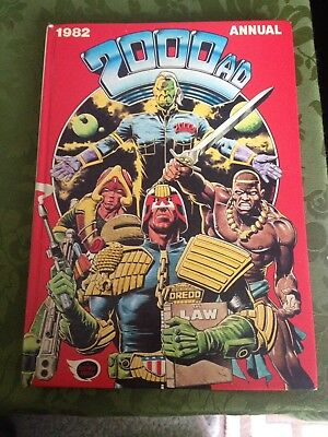2000 AD Comic Annual - Date 1982 - UK Fleetway Annual