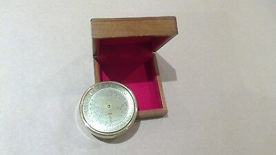 Boxed Brass International Time Calculator - antique reproduction