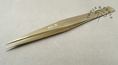 "High Quality Aa-Br Brass Tweezers Am Boyle Style 5"" Jewelry General Watch Repair"