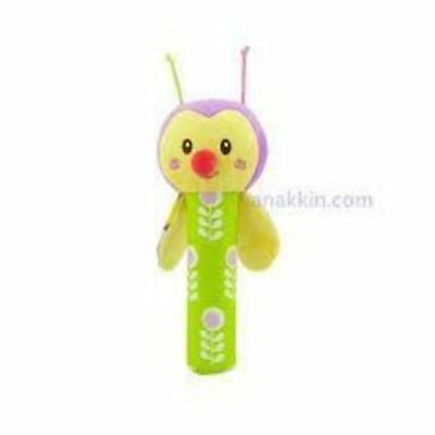 Plush Rattle Bell Toy, 0+ Months