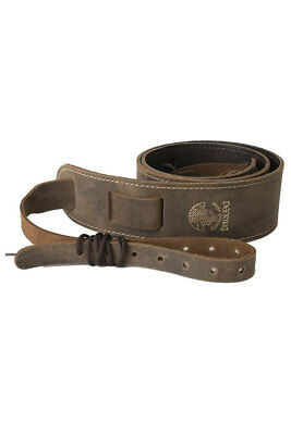 Deering Banjo Stitched Leather Cradle Strap For Goodtime and Vega Banjos