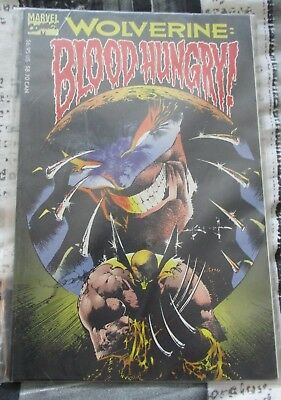 Used Condition MARVEL Comics Wolverine Blood Hungry #85-92 Graphic Novel 1993