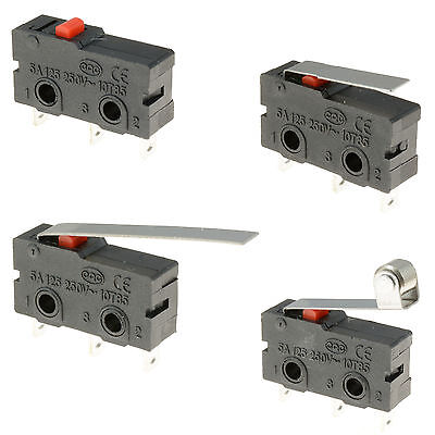 V4 Microswitch SPDT 5A Lever / Roller Micro Switch