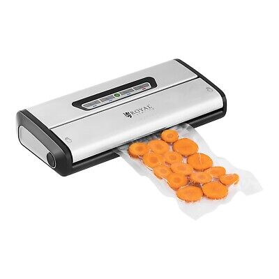 Food vacuum sealer 0.6 0.8 bar packaging pulse bag heat sealer portable 175W new