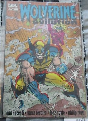 Used Condition MARVEL Comics Wolverine Evolution Graphic Novel Sept 1994