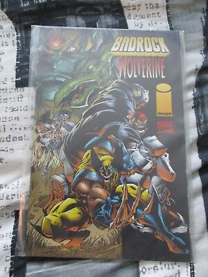 Used Condition MARVEL Comics Badrock Wolverine Graphic Novel Vol 1#1 June 1996