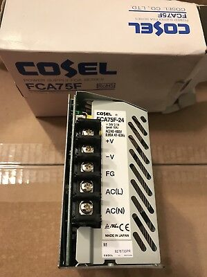 COSEL FCA75F-24 Power Supply Din Rail Mount