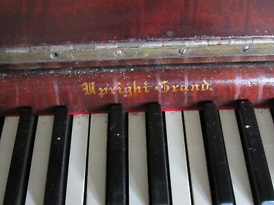 🎹 Vintage Reclaimed Antique Upright Piano Keys 1870's Arts, Crafts, Repair