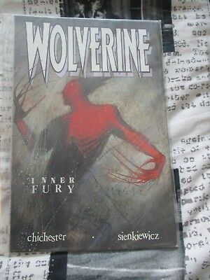Used Condition Marvel Comics Wolverine Inner Fury By Chichester and Sienkiewicz