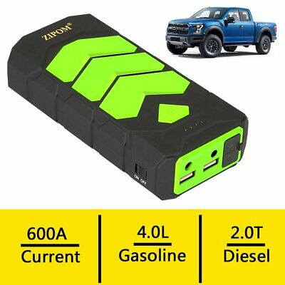 Heavy Duty 82800 mAh Car Emergency Charger Booster Jump Starter USB Power Bank