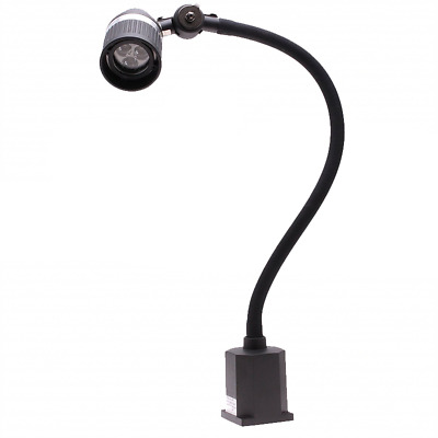 Aven 26527 Sirrus Task LED Light, High Intensity w/ 500mm Flex Arm and Clamp