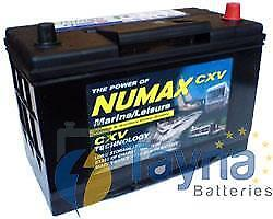 Numax CXV30HRMF  Sealed Batterie Camping Bateau   12V 105Ah 1000MCA   500 Cycles