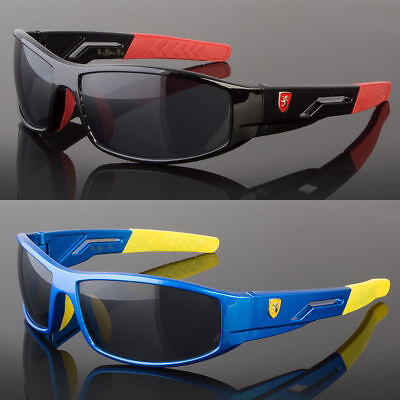 Children 7-14 Kids Sunglasses For Boys Cycling Baseball Youth Sports Glasses