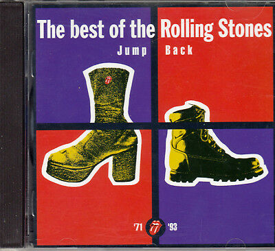 "Cd Album The Rolling Stones ""the Best Of The Rolling Stones / Jump Back 71 / 93"""