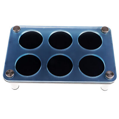 Acrylic Cup Holder Wine Rack Bullet Cup Holder for Bar/KTV Supplies -6 Holes