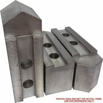 USST KT-8300P Steel Soft Chuck Jaws for 8 CNC Lathe Chucks Set of 3 Pieces 3 Tall