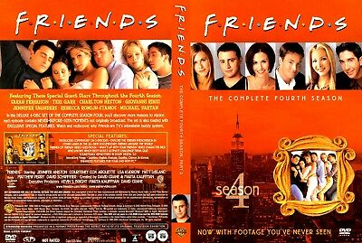FRIENDS The Complete Fourth Season 4 (4-Disc DVD Set, 2010) NEW SEALED FREE SHIP