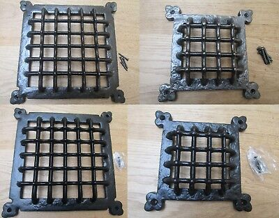 Vintage Medieval Gothic Window Bullion Door Ventilation Grill Aperture Cover