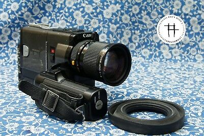Canon 814 XL-S Super 8 8mm film movie camera, great features, tested/warranty
