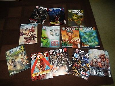 2000 Ad 2013 100 Page Christmas Mega-Special + Collection Of Other 2000 Ad Progs