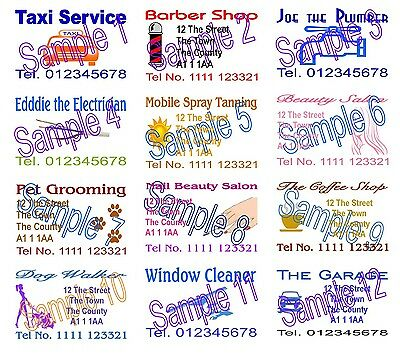Business Cards 50 Printed Personalised Designed 4 U
