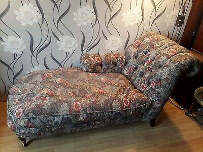 Victorian Style Chaise Longue.