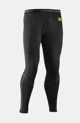 Under Armour 3.0 Men's Size XL Black Base Layer Cold Weather Leggings Pants NWOT