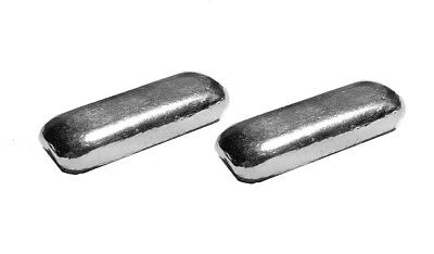 Two (2) x 1/2 Troy Ounce Silver Bars | .999 | Hand Poured
