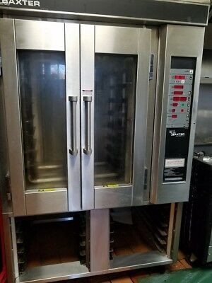 Baxter OV310G Rotating Rack Convection Oven