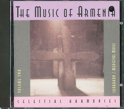 VA-THE MUSIC OF ARMENIA Vol 2 Sharakan/Medieval Music 1996 German Import CD MINT