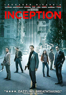 Inception (DVD, 2010; PG-13; 148 Minutes)