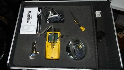 BW Honeywell GasAlert Max XT II Confined Space Muti-Gas Monitor w/ case & more