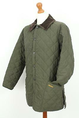 BARBOUR Eskdale Men's Quilted Green Jacket Size M