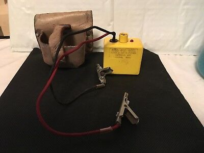 Vtg Linesman Test Equipment Aines Tracer test unit  140A w/pouch USA