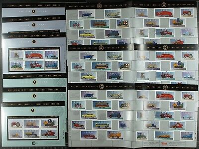 Weeda Canada VF mint NH Lot of Souvenir Sheets FV $100.49 Face Value up to $1.25