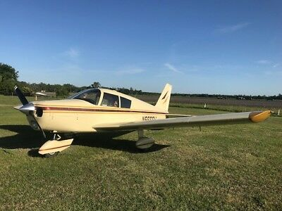 Clean 1965 Piper Pa-28 Cherokee 140 4 Seat Aircraft With 160 Hp Stc