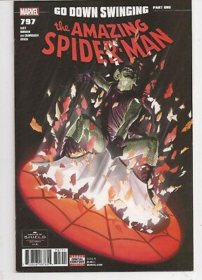 The Amazing Spider-man #797 Alex Ross Marvel Comics 2018 NM Red Goblin