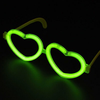 Luminous Glasses Prop Festival Solid Love Xmas Halloween Party Club Sunglasses